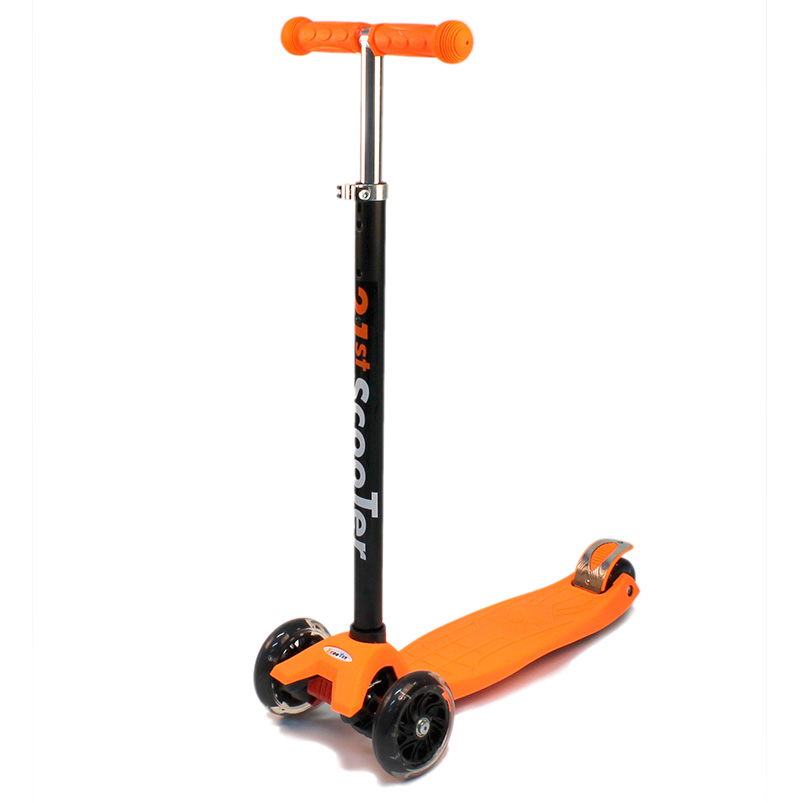 самокат детский трехколесный maxi scooter 21st maxi