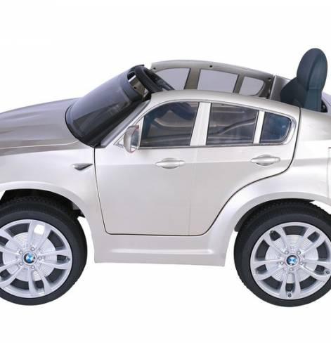 Электромобиль BMW X6 12V R/C champagne metall