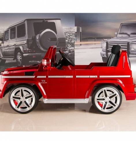 Электромобиль Mercedes-Benz AMG Красный