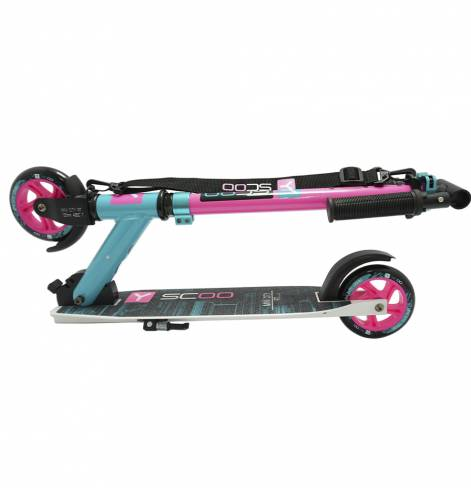 Y-SCOO 125 mini city Montreal pink-blue