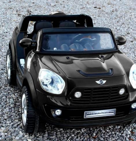 Электромобиль BMW MINI Черный