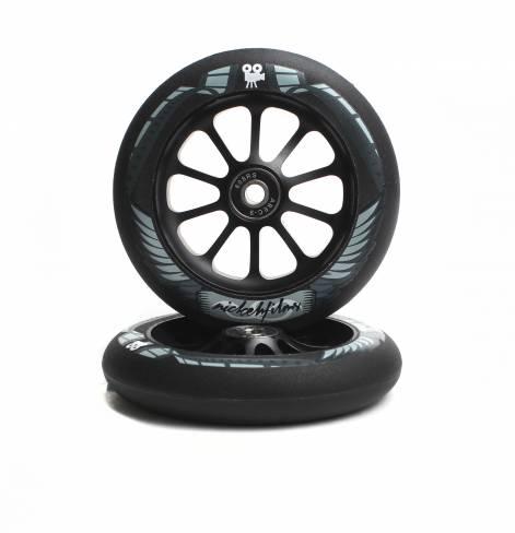 Колеса Ride 858 120 мм Nickehfilms Black/Black