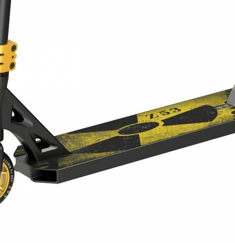 Трюковый самокат Z53 Predator Kast желтый