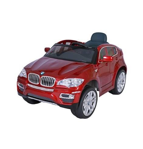 Электромобиль  BMW X6 Красный