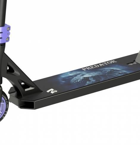 Трюковый самокат Z53 Predator Kast фиолетовый