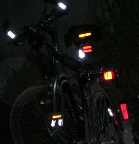 Набор светоотражателей браслетов 5+1 sv6
