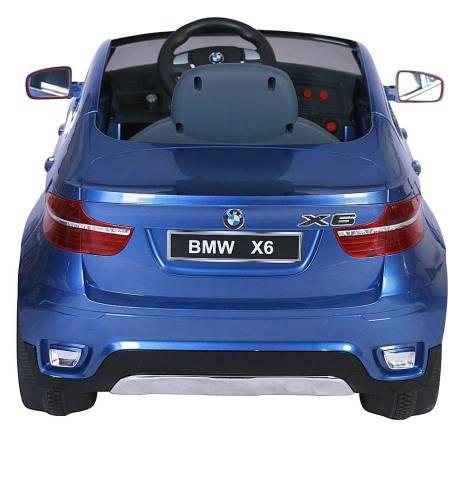 Электромобиль  BMW X6 Синий