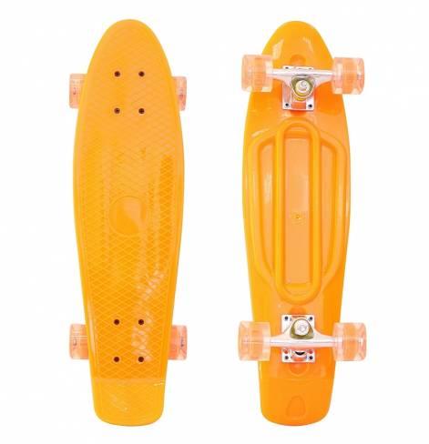 "Скейтборд Penny board Classic 26"" со светящимися колесами"