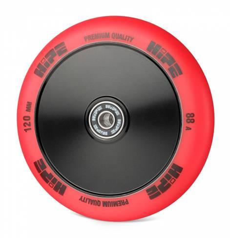 Колесо HIPE Medusa wheel LMT20 120мм black/red