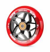 Колесо HIPE H01A 110мм black/transparent red
