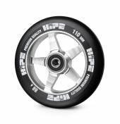 Колесо HIPE 09 110MM black/silver