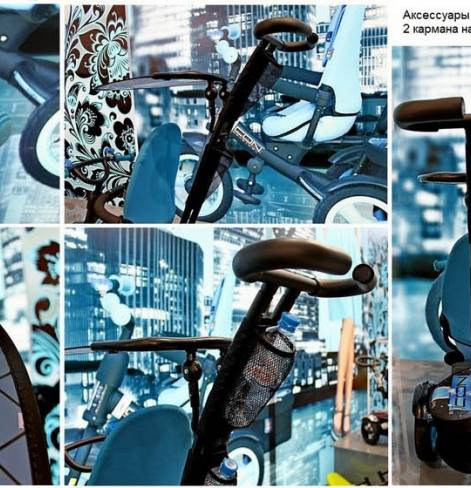Трехколесный велосипед Lexus trike Icon evoque