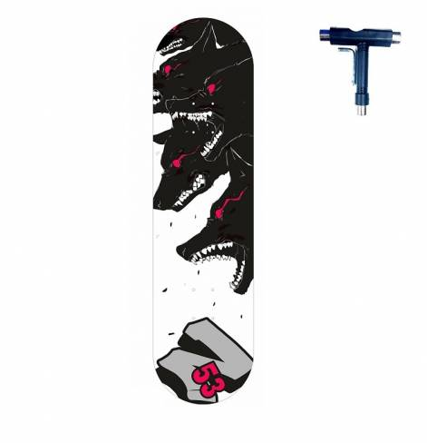 Скейтборд Z53 Dogs