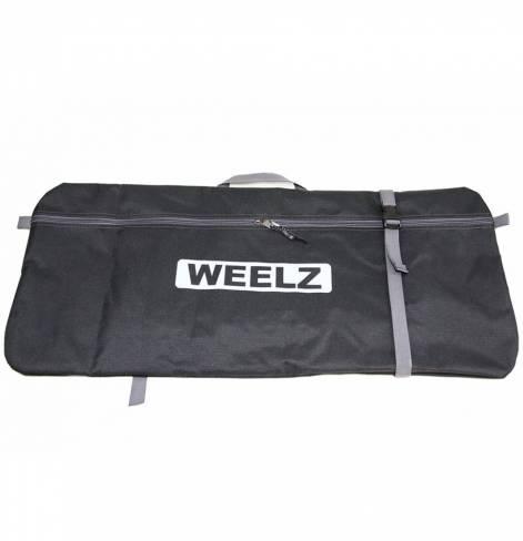 Самокат Weelz Twist черно-синий
