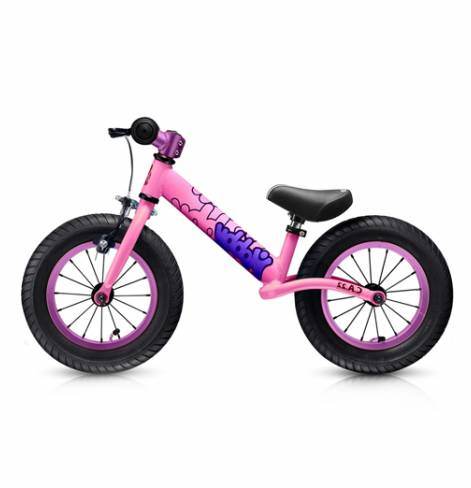 Велобалансир+беговел Hobby-bike original BALANCE Twenty two 22 pink aluminium