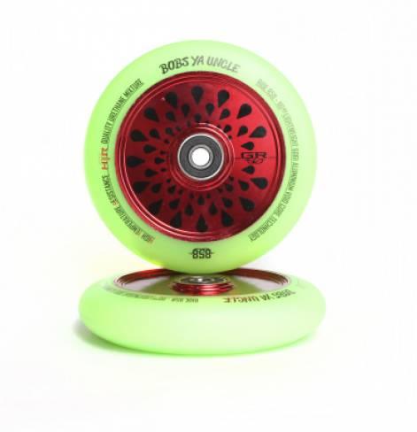 Колеса Ride 858 GR 110 мм Black/Watermelon