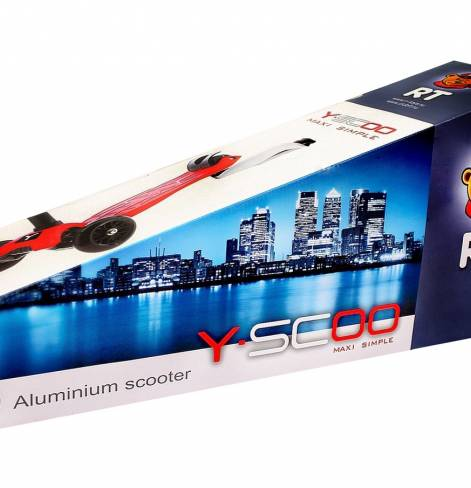 Трехколесный самокат Y-SCOO MAXI SIMPLE A20