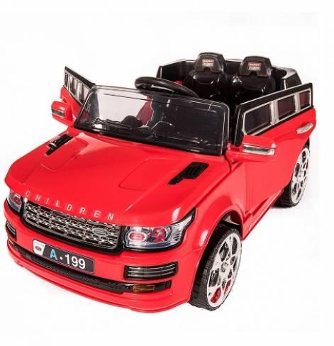 Электромобиль LandRover RALF 1 красный