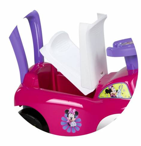 443011 Smoby Каталка для детей Minnie c ручкой-спинкой
