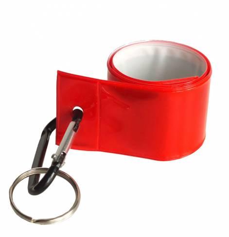 Светоотражатель с карабином и кольцом sv1