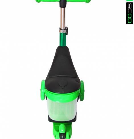 Каталка-самокат 3 в 1 Y-SCOO Mini Jump&Go со светящимися колесами